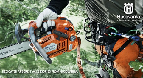 Dedicated arborist accessories from Husqvarna